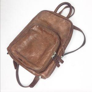 [90's] 🎒Leather Mini Backpack